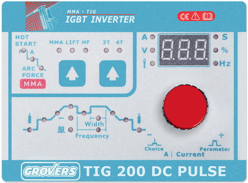 GROVERS TIG 200 DC PULSE
